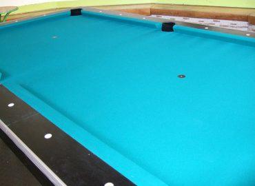 Billiardtisch nachher