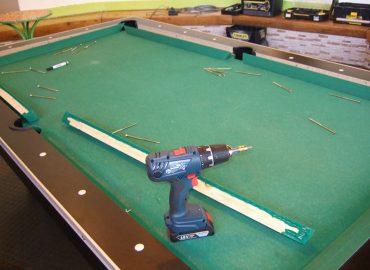 Billiardtisch vorher